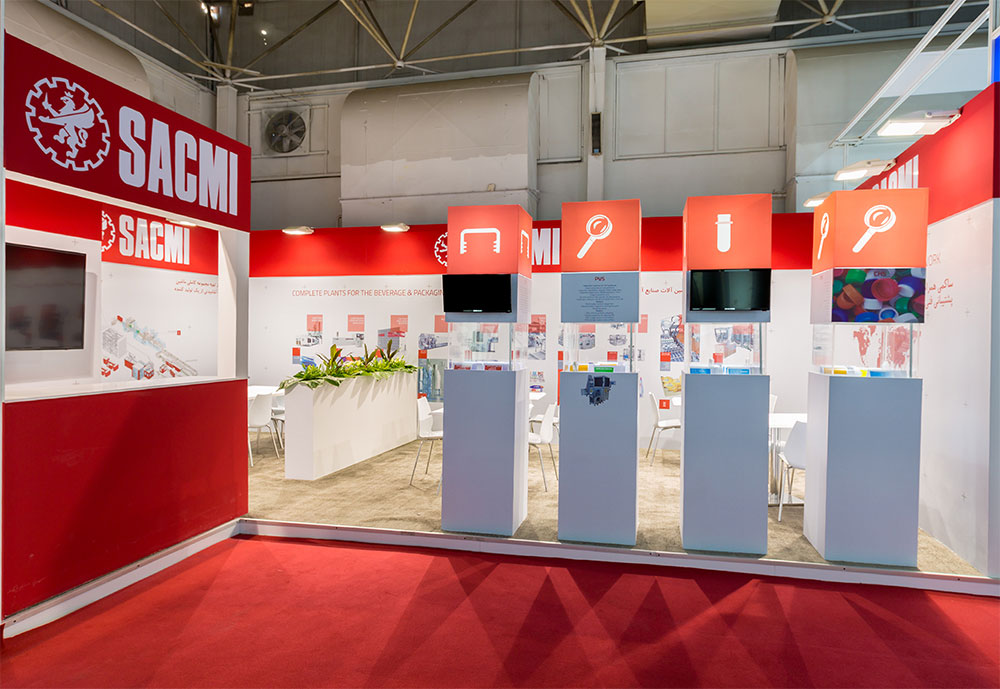 Exhibition Stand Contractor In Iran : Our services