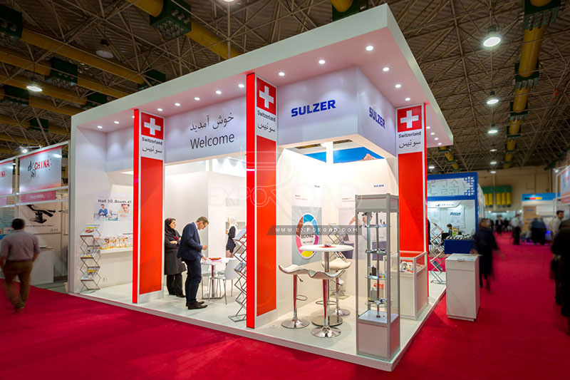 Exhibition Stand Contractor In Iran : Exhibition contractors services