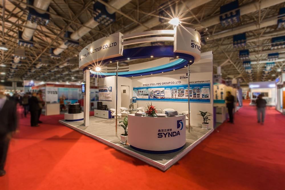 Exhibition Stand Iran : Exhibition stand design exporoad services