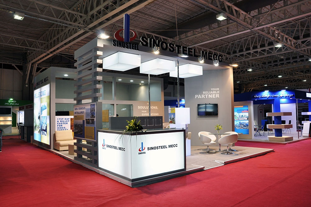 Exhibition Stand Contractors Qatar : Exhibition stand design exporoad services