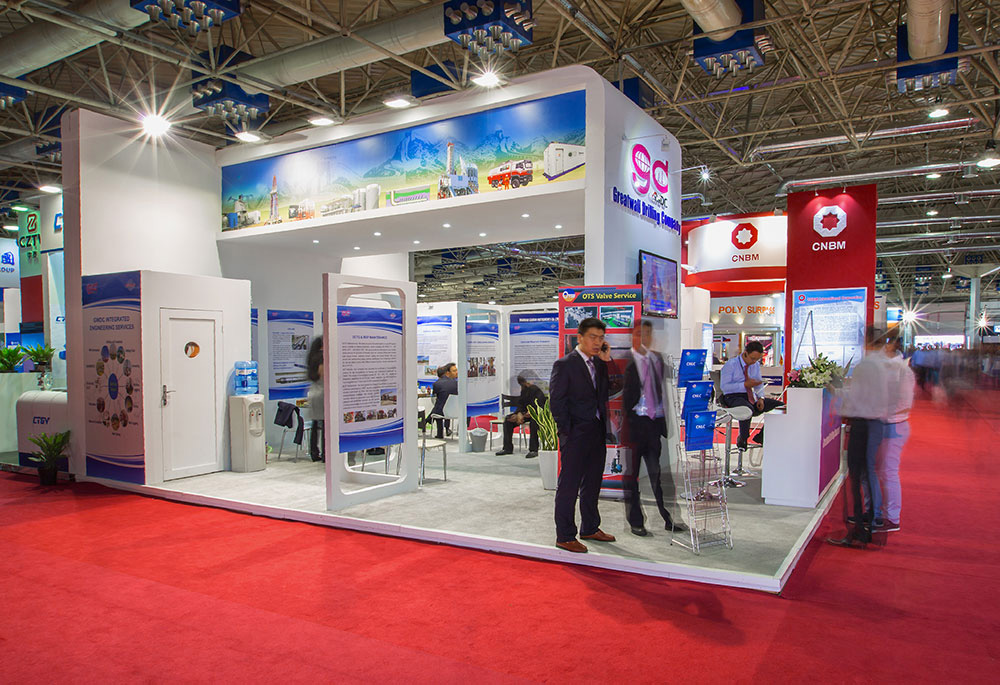 Exhibition Stand Contractor In Iran : Iran oil show tehran